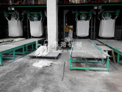 铁矿石吨袋机铁矿石吨袋包装秤节能环保
